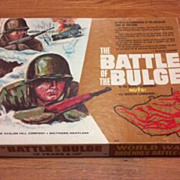 1965 The Battle of the Bulge board or table game. Avalon Hill #602