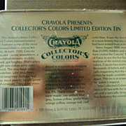 Collector's Color's Limited Edition Crayola Crayons