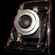 Kodak Tourist II fold-out camera with Bakelite top