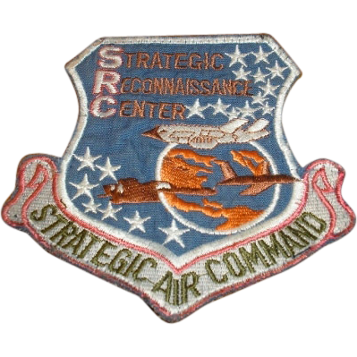 SAC Strategic Air Command SRC Strategic Reconnaissance Center embroidered military Air Force patch