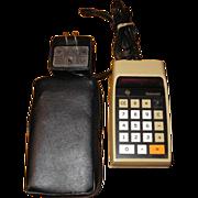 Datamath TI-2500B electronic calculator by Texas Instruments