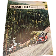 1932 BLACK HILLS South Dakota vacation brochure magazine. Chicago Northwestern Line railroad advertisement.