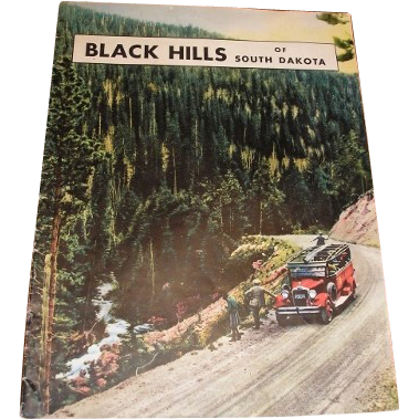 1932 black hills south dakota vacation brochure magazine for Cabine black hills south dakota