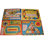 No. 933 16 Ready to Play Games boards. 1931 Whitman Publishing. W. P. & B. Keasbey