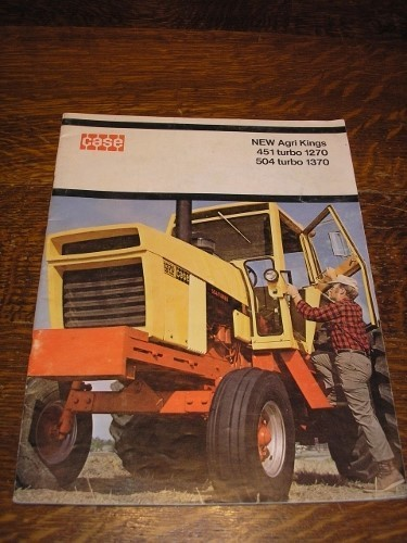 Tractor Turbo Cover : Case new agri kings turbo and