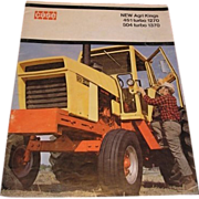 CASE New Agri Kings 451 TURBO 1270 and 504 TURBO 1370 tractor brochure. A68771J