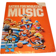 1982 Eaties for Wheaties March cereal jingle contest promotional folder with original contents. Art by BUTLER