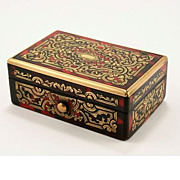 A Case for Perfection: Boulle Stamp Box, c1840