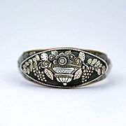 Rare Berlin Iron Giardinetti Ring, c. 1790 - 1815
