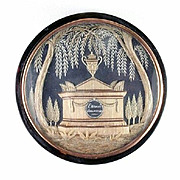 A Georgian Era Snuff Box with Mourning Plaque, c.1780
