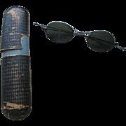 Old Civil War Era Sun Glasses