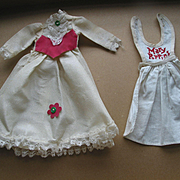 Vintage Mary Poppin's Dress and Apron