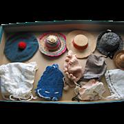 11 Older Doll Hats
