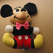 Mickey Mouse Figure  -  Walt Disney