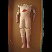 "16"" Old Kid Doll Body"
