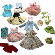 Smaller Doll Clothes  Lot A
