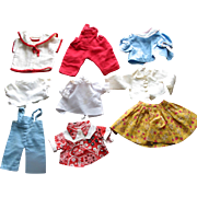 Doll Clothes - Blouses & Skirts & Pants