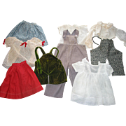 9 Pieces of Older Doll Clothes