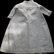Old White Cotton Doll Dress