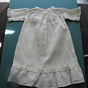 Old Cotton Baby Doll Dress