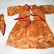 Old Handmade Doll Dress
