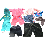 Lot of doll Clothes  --  Pants and Tops