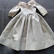 Old Grey- Beige Doll Dress