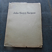 John Singer Sargent :  1924 Catalogue