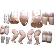 Lot of Older Doll Body Parts