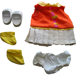 Clothes for Mattel Doll - Baby 1st Step -  1967