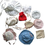 10 Doll Hats