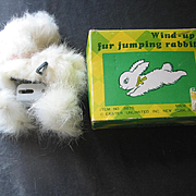 Wind-Up Jumping Rabbit in Original Box