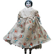 "China Head Doll - 7 1/4"" tall"