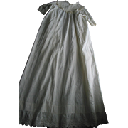 Long Antique  Baby- Doll- Dress