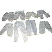 8 Pairs of Doll Underwear - Bloomers