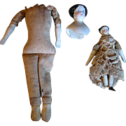2 Smaller China Dolls - As Is
