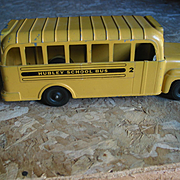 Hubley Toy School Bus