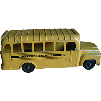 Hubley Toy School Bus