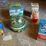 3 Older Wind-up Toys