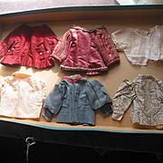 Lot of Older Doll Blouses and Tops
