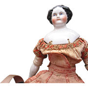 "14"" Antique China Head Doll"