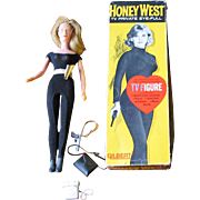 Honey West Doll - T.V. Figure - Original Box