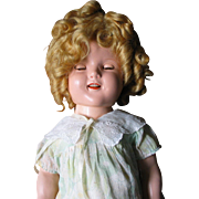 "18"" Composition Shirley Temple Doll"