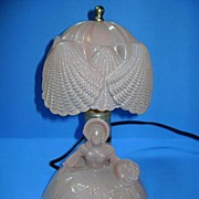 VINTAGE Depression Era Southern Bell Bedroom Light