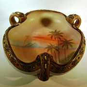 NIPPON  Small three Handled Candy Dish