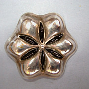 VINTAGE Flower of David Brooch by Ken Tieister of :Miami, FL