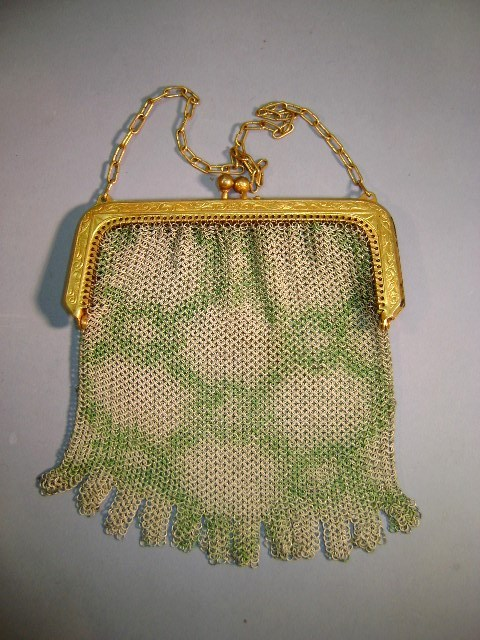VINTAGE Whiting and Davis Mesh Purse