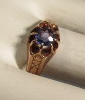 VINTAGE 14K  Tanzanite Ring  Size 5 3/4