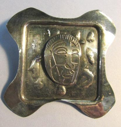 VINTAGE Hand-Made Silver Brooch Special!