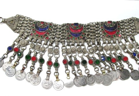 VINTAGE  Authentic Belly Dancer Coin Hip Belt